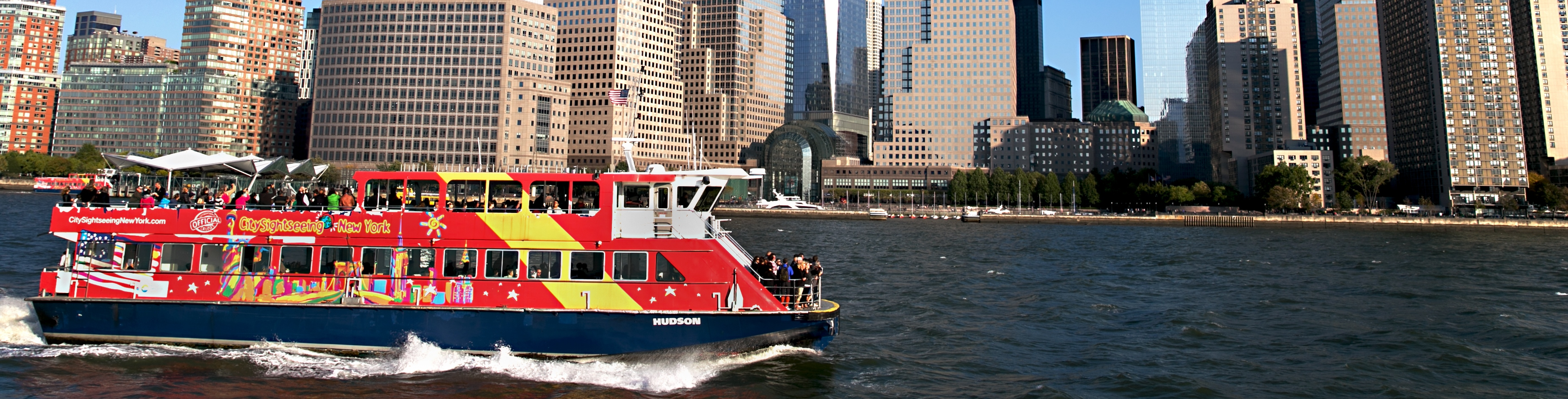 CitySightseeing New York hop-on hop-off Cruise