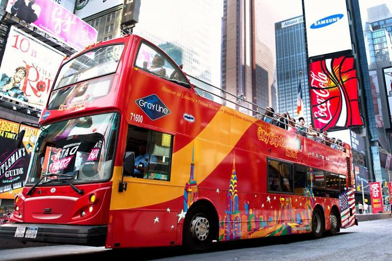 NYC Bus Tours | New York Sightseeing Tours | Gray Line New York