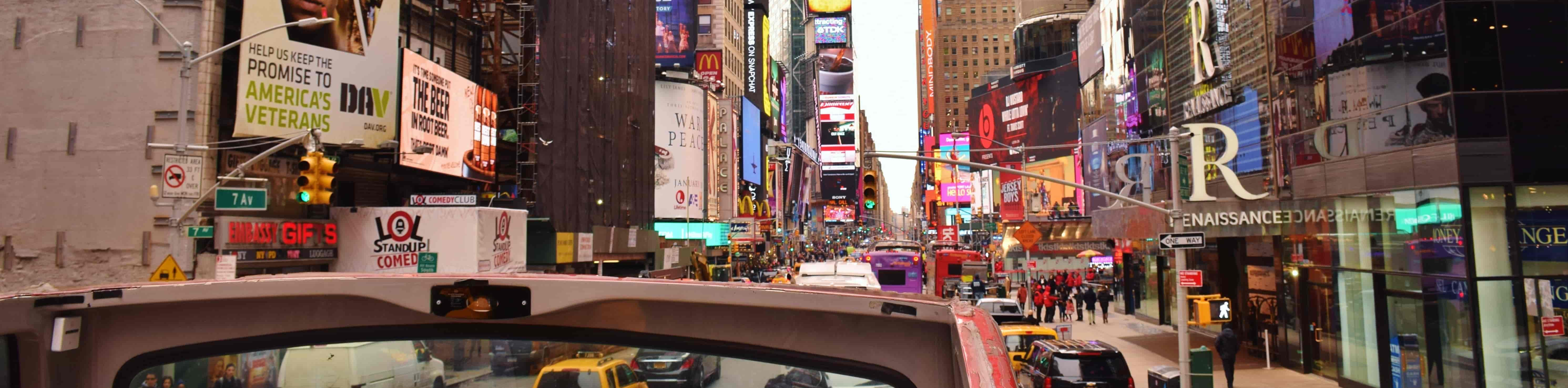 Gray Line CitySightseeing New York double decker bus tours and NYC Things